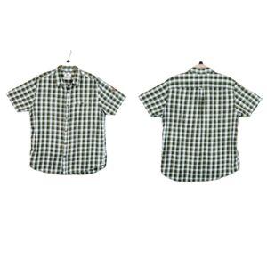 FJALLRAVEN Sarek Plaid Shirt Sleeve Button Shirt